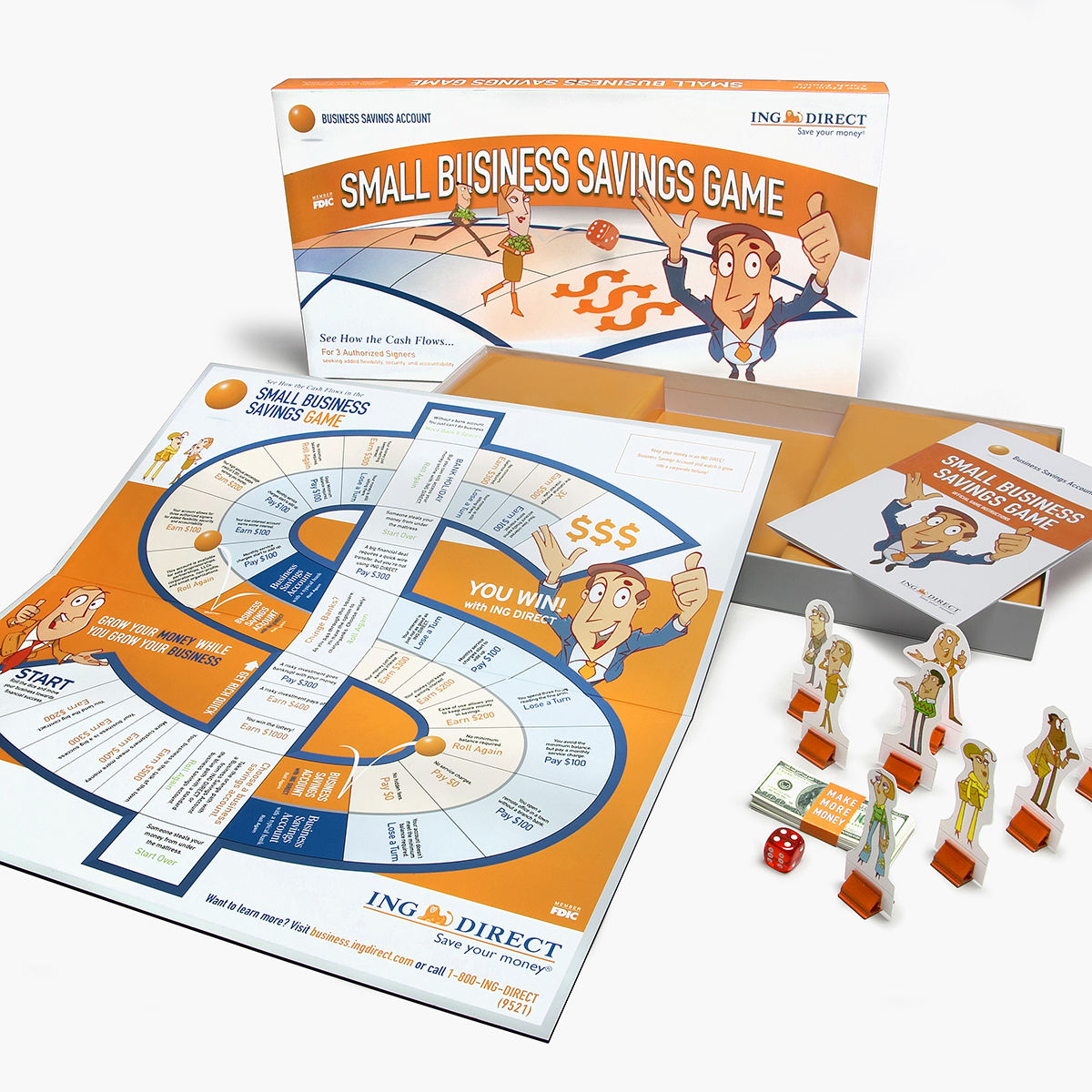 ING Direct Small Business Savings Game