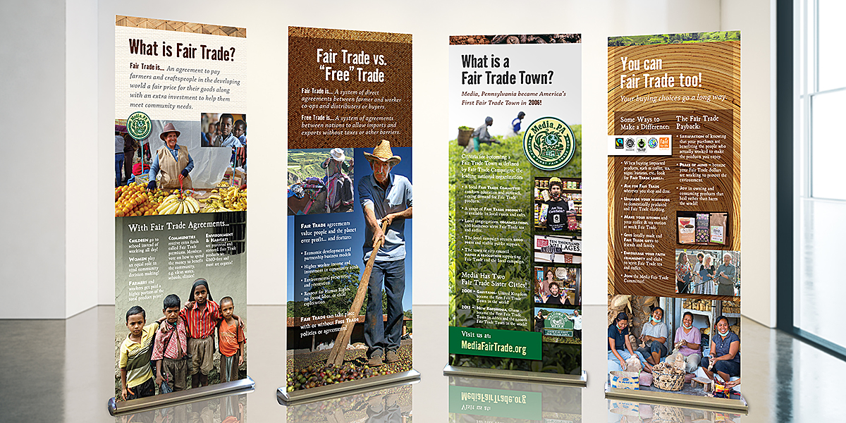 Fair Trade Educational Banners