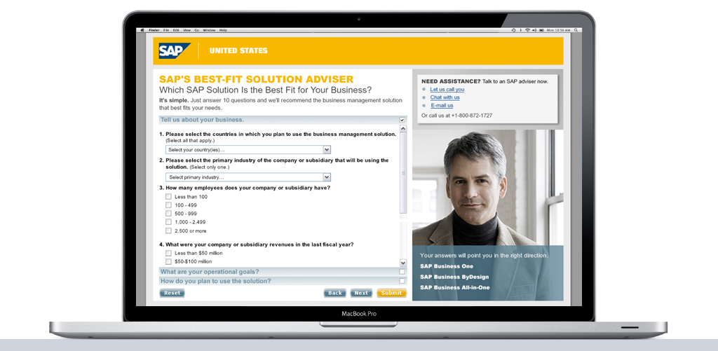 SAP Best Fit Adviser