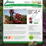 Mantis Tillers Website