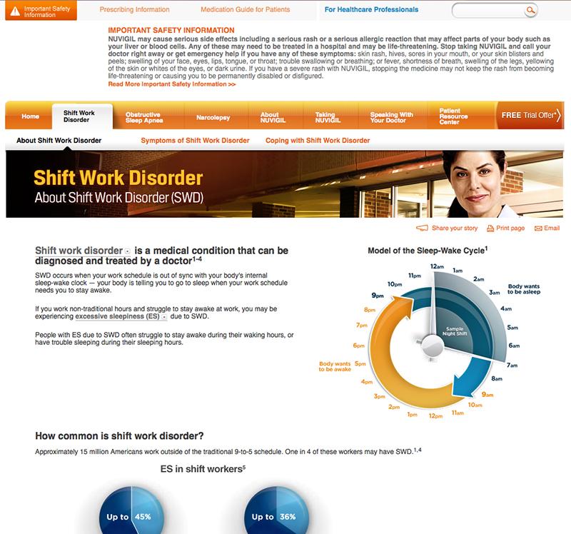 Nuvigil Website