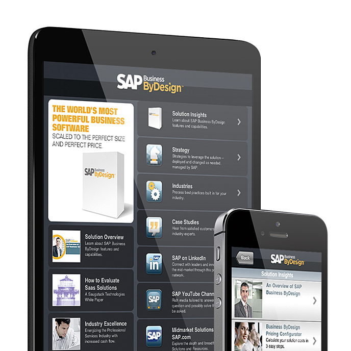 SAP Business ByDesign App