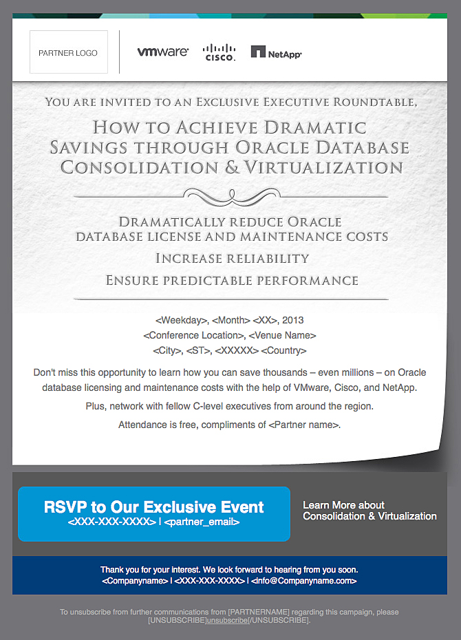 VMware Partner Invite