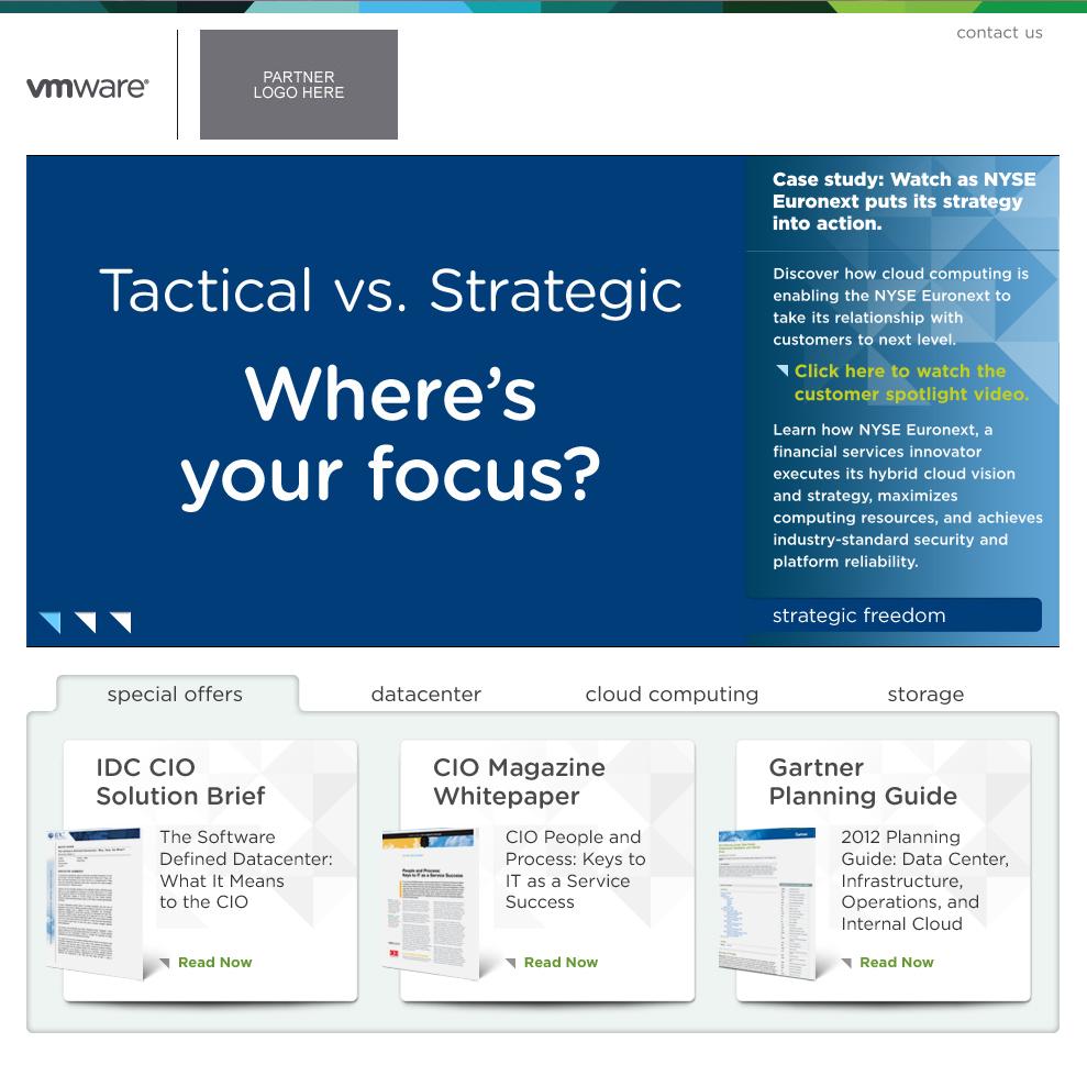 VMware Landing Page