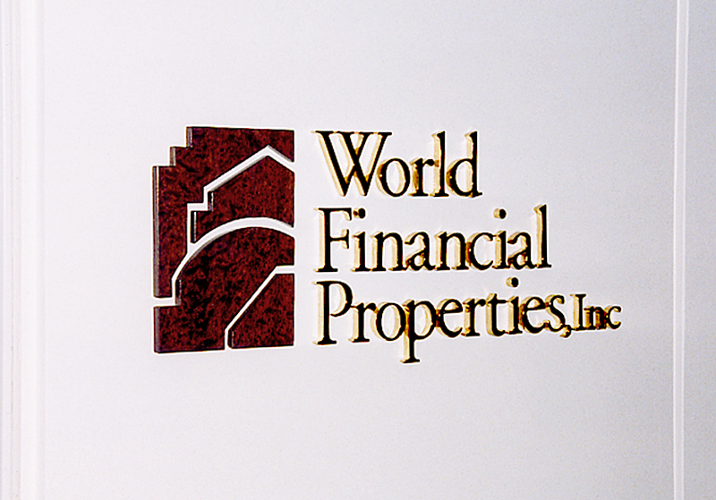 World Financial Properties Signage
