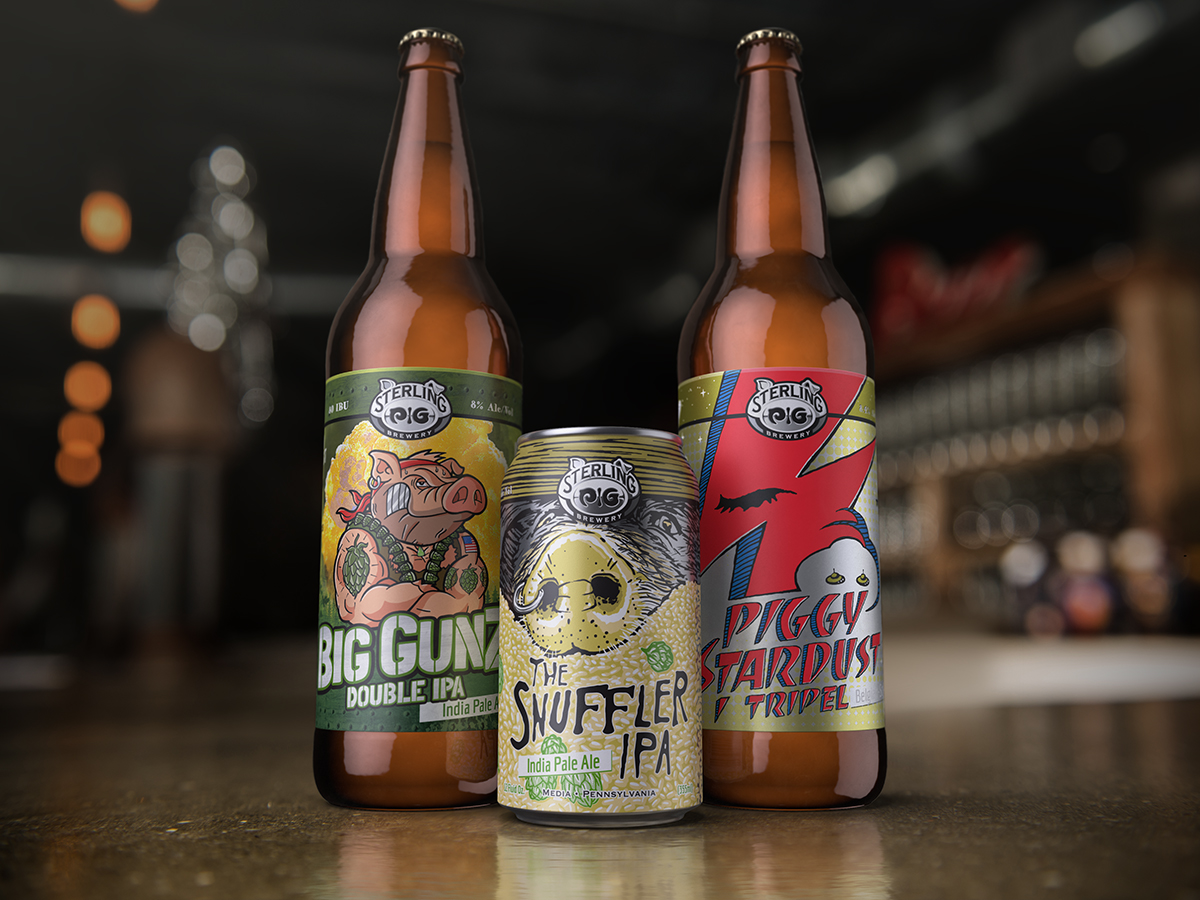 Sterling Pig Beers