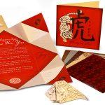 23k Origami Invitation