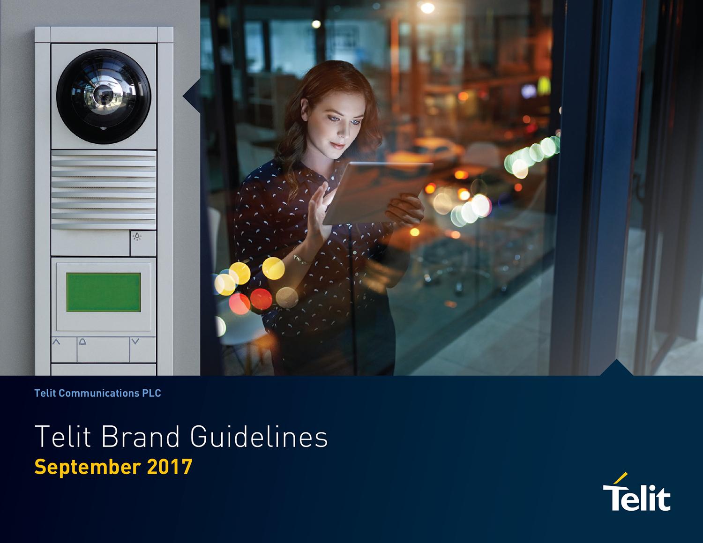 Telit Brand Guidelines Cover